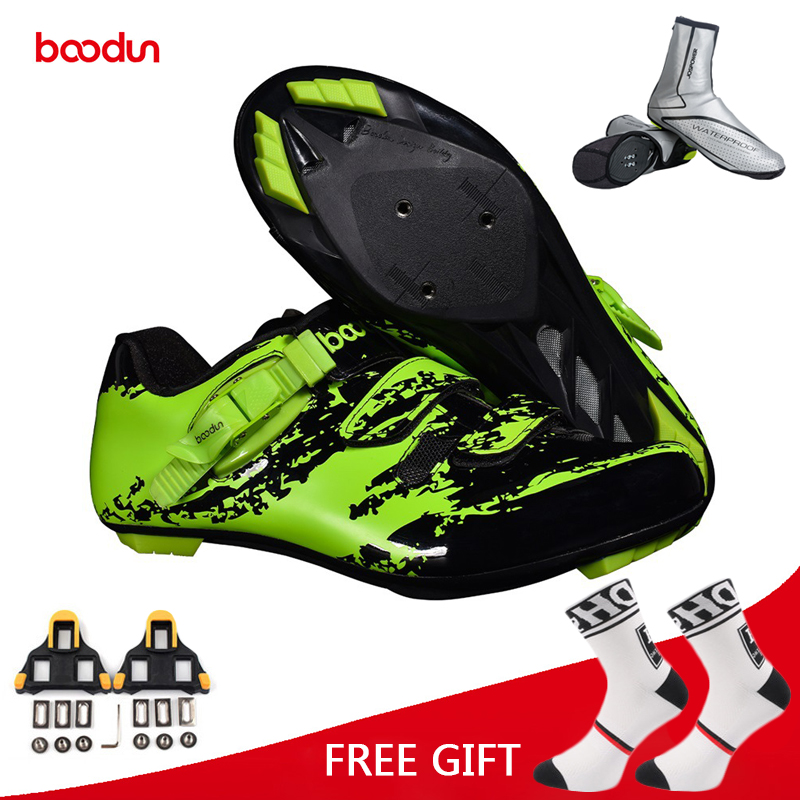 Boodun Road Cycling Shoes Ultralight Racing Sneakers Bike Men Professional Breathable Bicycle zapatillas ciclismo