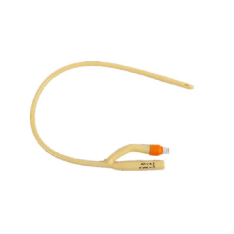 12 pcs Double Hole Latex Disposable Urethral Catheters Inserted Tube Urethral Dilators sterilized urethral catheter