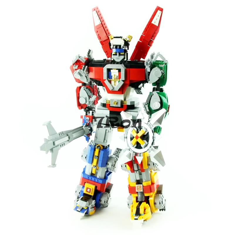 16057 Movie material serie The Voltron King compatible with Lego 21311 Set Building Blocks Set Bricks Children as DIY gift china brand bricks toy diy building blocks compatible with lego batman movie the batmobile 70905