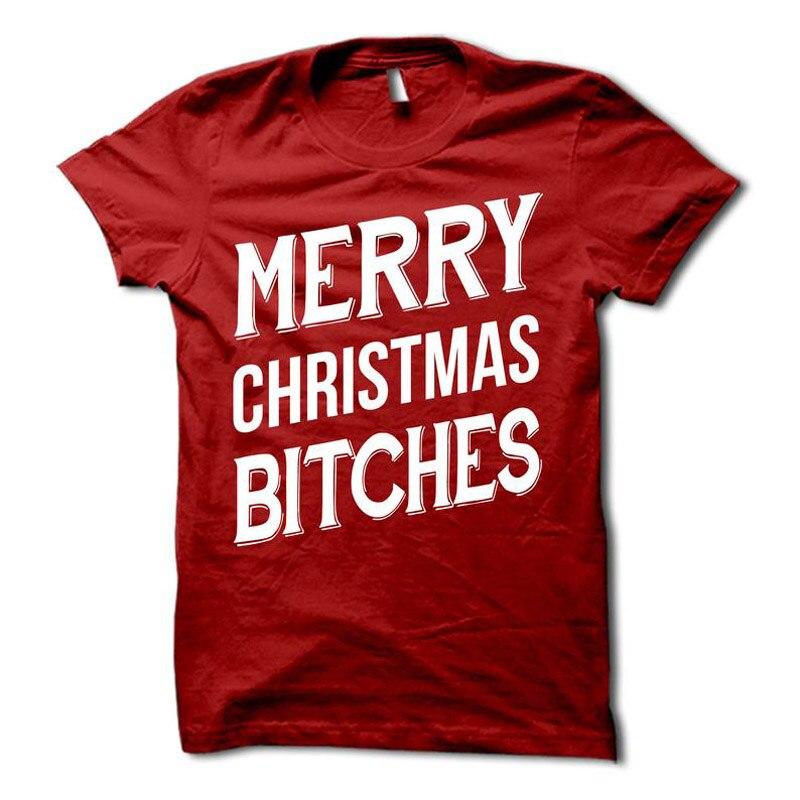 ONSEME Merry Christmas T Shirt Women Cute Top Friends Shirt Summer Loose O-neck Casual Short Sleeve Tees Women Tshirts  Q-784