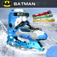 Roller Ice Skates Blade Batman Shoes Blade Multi Purpose Ball Blade Full Set Multicolor