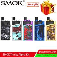 New Vape SMOK Trinity Alpha Kit Pod System Vape kit with 1000mAh battery 2.8ml Cartridge Electronic cigarette Vape vs smok stick