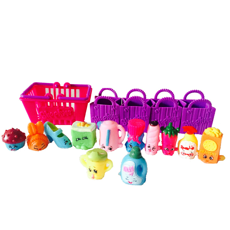 2015 Hot Model Shopkins Kids Toy Shopkins Season 2 12pack Shopping