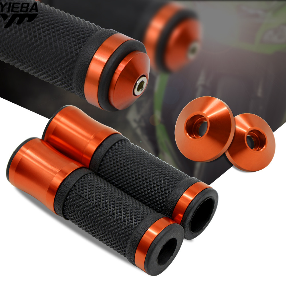 Universal 22mm Street&Racing Motorcycle Handle Grips Handlebar Ends For Suzuki 250SB LTZ400/450 DRZ400S/SM Ktm 450SX/SX-R/SX-F