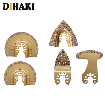 1PC Carbide Oscillating Multitool Saw Blades cement ceramic Tile Grout Cutter For Fein Metal Cutting Tool power tool accessories 1pcs diamond carbide oscillating multitool saw blade fits fein multimaster gold metal cutting tool wood cutter