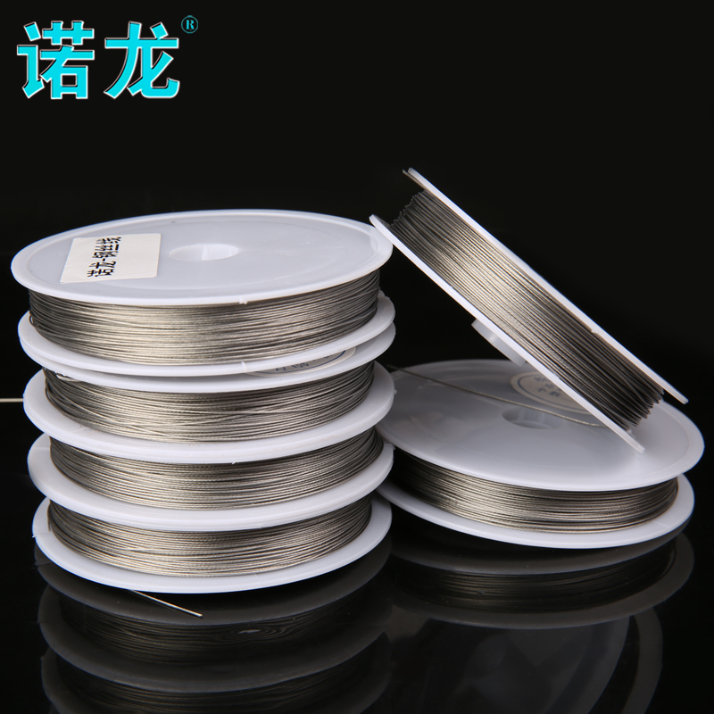 plastic coated steel fishing line super strong fishing