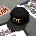 Fashion Men`s Hip Hop Baseball Caps Metal Punk Gothic Street Style Flat Hats For Hipster Swag Snapbacks For Male
