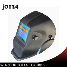 New Li Battery+Solar Auto darkening welding helmet/face mask/Electric welder mask/cap for the welding machine promotion li battery solar dual power supply auto darkening grinding welding helmet welding mask welder cap