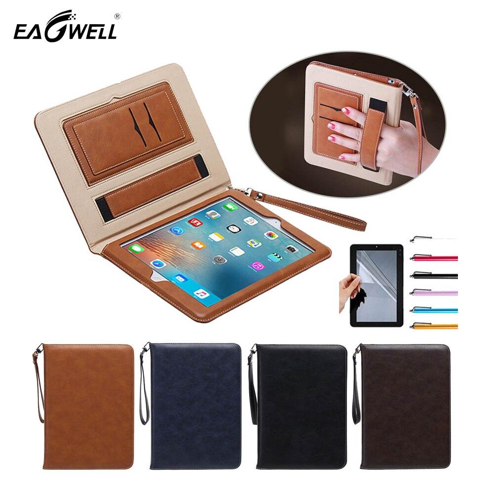 "9.7"" Luxury Soft PU Leather Case For Apple ipad Air 1 2 iPad 5 / iPad 6 Flip Stand Cover"