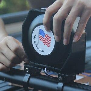 Image 3 - Автомобильный предупреждающий сигнал, полицейская Предупреждение, Автомобильная сирена динамик, несколько звуков, сигнал, автомобильный бассейн, скорая помощь, аварийный сигнал, постоянный ток 12 В