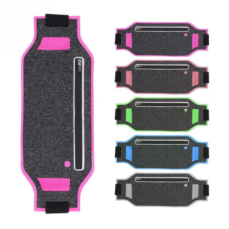 Audacious Outdoor Running Fitness Sport Waist Bag Men Women Multi-functional Pack Phone Keys Pocket Super-thin Jogging Sports Belt Bags Terrific Value