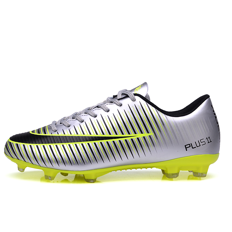 Men women kids soccer Breathable Chuteira Futebol High Quality Cheap ... 8266546c11e66