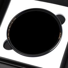 Zomei Filtro ND8 ND64 ND1000 ניטראלי Multicoated צפיפות אופטי זכוכית מסנן אור הפחתת MirrorSliver מסגרת 49 ~ 82mm