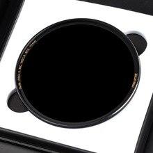 Zomei Filtro ND8 ND64 ND1000 Neutral หลายชั้นความหนาแน่นกระจกกรองแสงลด MirrorSliver Rimmed 49 ~ 82 มม.