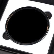 Zomei filtro nd8 nd64 nd1000, filtro de vidro de densidade multirevestido, neutro, óptico, redução de luz, espelhado, 49 ~ 82mm