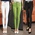 Plus Size! New 2015 Autumn Casual Women Fashion Slim Show Thin Pencil Pants High Waist  Female Long Pants Hot Sale S-XXL KZ009