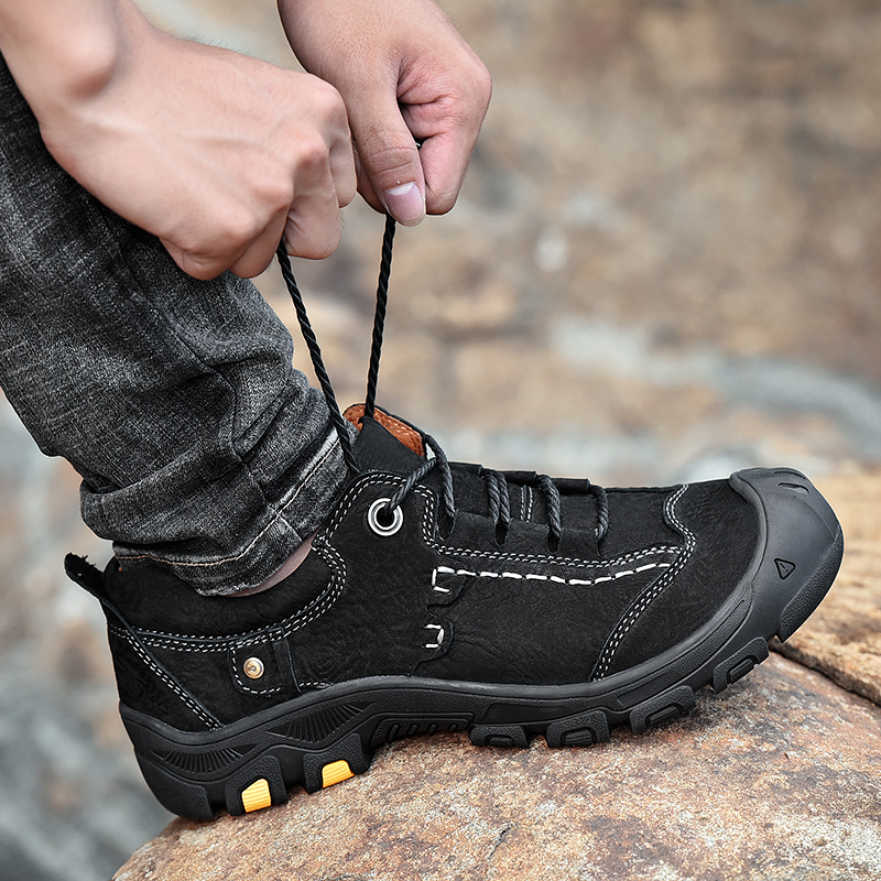 Comfortable Non-slip Flats Men's Hiking Shoes Low To Help Ma