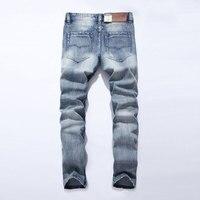 2017 New Dsel Brand Jeans Men Famous Blue Men Jeans Trousers Male Denim Straight Cut Fit