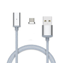 GARAS Magnetic Cable 2.4A Micro USB Cable Charger for Xiaomi Android phone Nylon Woven High Quality High Speed Cable for Samsung