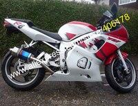 Ventas calientes, Yamaha YZF R6 1998 1999 2000 2001 2002 YZFR6 YZF-R6 98 99 00 01 02 ABS carenado de la motocicleta ( moldeo por inyección )