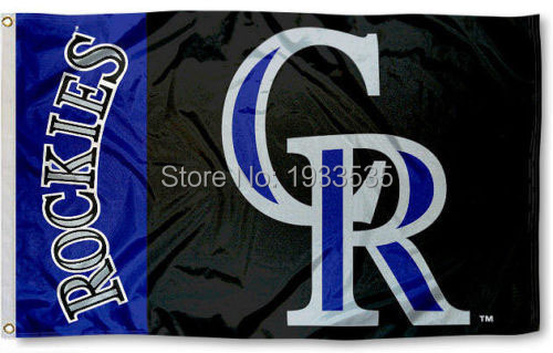 Colorado Rockies Flag 3x5 Banner