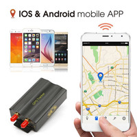GPS SMS GPRS Real time tracker Coban TK103A Original Quad band SD card slot anti theft motion alarm by SMS gps carro de pista