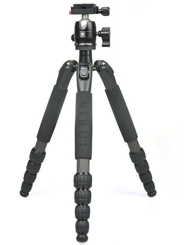 sirui T025SK B00K tripod head carbon fiber mini portable SLR camera micro single tripod