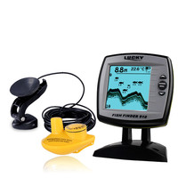 LUCKY 2 In 1 Fish Finder Wired Wireless Fishfinder Depth Sounder Sensor Transducer Fish Detector Monitor