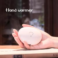 Симпатичный USB Перезаряжаемый подогреватель рук домашние обогреватели 1800 mAh 5 V маленький, ручной, для путешествий удобный карманный подогре...