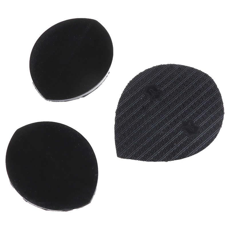 1 пара мужские самоклеющиеся DIY Stick на обувь подошва анти-скольжения черный износостойкий мат подошвы стикеры наклейки для кухни