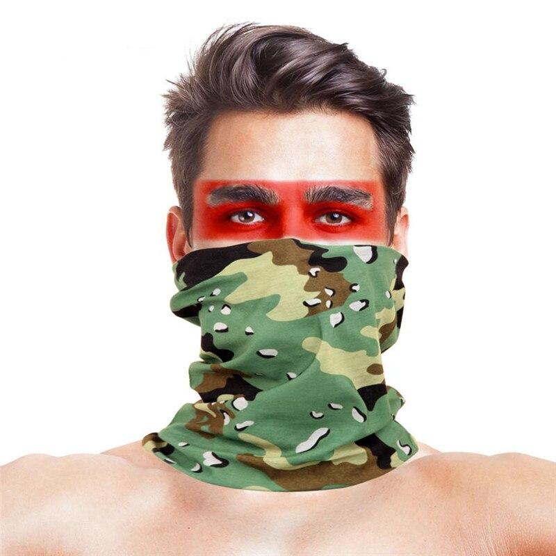 Военные страйкбол маски для вечеринки Полиэстеровые повязки на голову шарф Вечерние Маски унисекс головной убор Хэллоуин пугающая маска - Цвет: 023