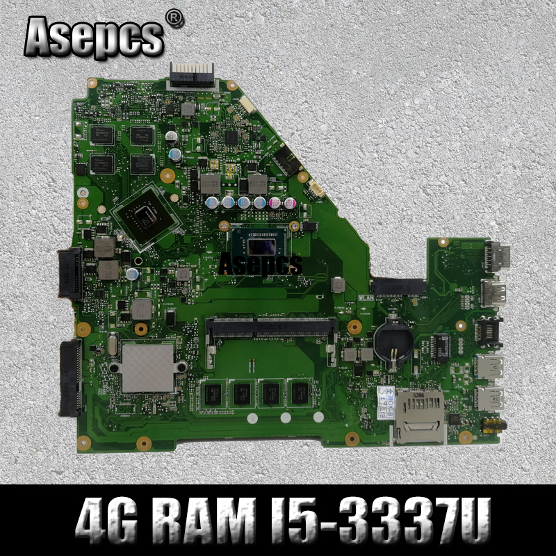 For ASUS X550CC R510C Motherboard With i5-3337U 4GB Ram GT 720M Rev2.0 Mainboard