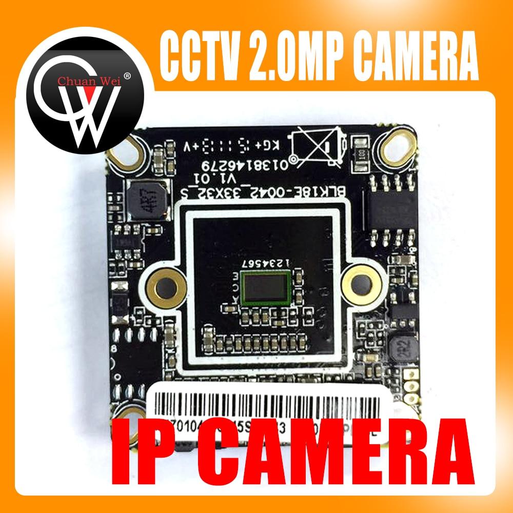 1.0MP IP Camera CMOS ONVIF Module NX4C100 720P IP Camera Board Via Chip Hi3518E