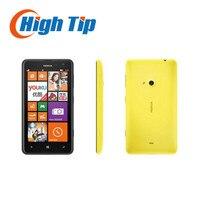 Déverrouillé nokia lumia 625 d'origine mobile téléphone 4.7 pouce tactile écran Dual core GPS WIFI 3G 4G réseau livraison gratuite rénové