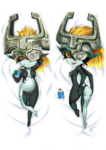 "Game Legend of Zelda Midna Dakimakura Anime Girl Pillow Case Cover Hug Body 59""(China)"