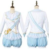 LoveLive Косплэй вы Watanabe Aqours Wonderland Ver горничной Косплэй костюм Хэллоуин карнавальные костюмы