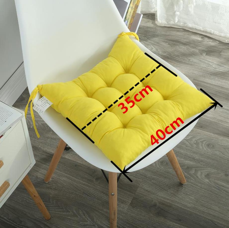 SLOWDREAM Seat Cushion Decor Back Cushion Square Pillow Modern Solid Printed Fashion Sofa Chair Car Living Room Kitchen Cushion in Cushion from Home Garden