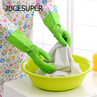 Household Gloves Waterproof Dishwashing Gloves Long Sleeves Protect Your Hands High Quality Soft Latex A Variety