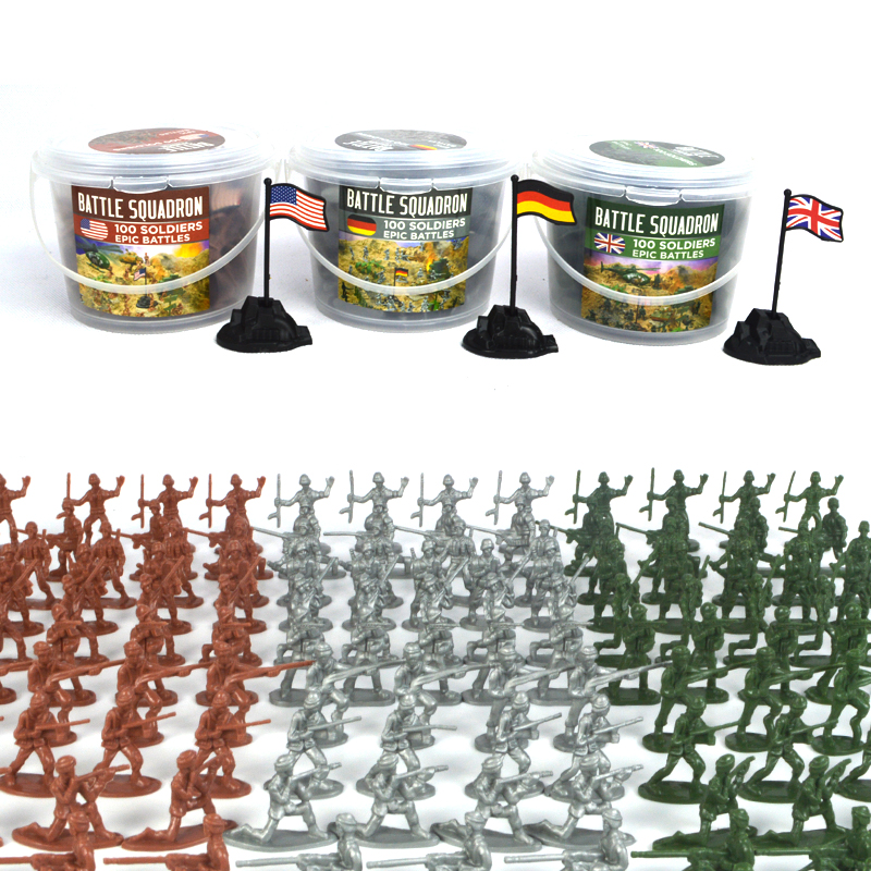 Army Toys For Boys : Aliexpress buy bottled pcs mini plastic soldier