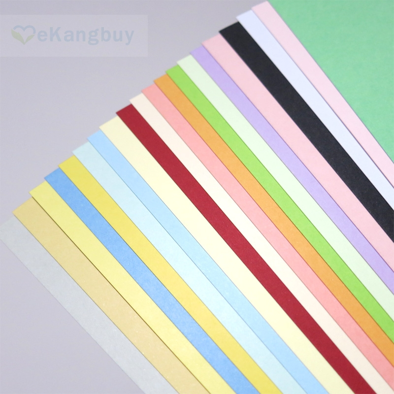 20 Colors/set 230gsm Thicken Color Card Paper 32K 16K A4 Size Cardstock Cardboard a4 colored cardstock 230gsm deep color papers for craft card making red blue dark brown merlot red deep green 10 20 sheets