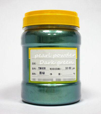 500 г бесплатно фиолетовый цвет натуральная минеральная пудра MICA порошок сделай сам для мыла краситель для мыла макияж тени для век порошок пигмент для окрашивания автомобиля - Цвет: dark green