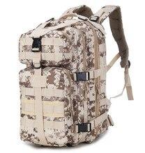 2018 야외 군사 군대 전술 배낭 트레킹 여행 배낭 캠핑 하이킹 트레킹 위장 가방