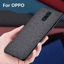 For OPPO Realme 6 5 3 2 Pro Case RX17 Neo K1 case For OPPO A5 A8 A31 A92S A9 2020 Reno ACE 10x zoom Find X 2 Case Fabric cover
