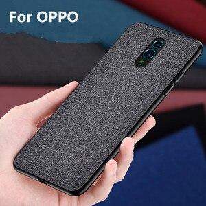 Image 1 - OPPO Realme 6 5 3 2 Pro 케이스 RX17 Neo K1 케이스 OPPO A5 A8 A31 A92S A9 2020 Reno ACE 10x 줌 찾기 X 2 케이스 패브릭 커버