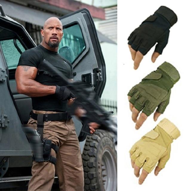 ESDY Военная blackhawk сша спецназ тактические противоскользящие перчатки без пальцев боевых половины пальцев тренировки тренажерный зал тренировочные перчатки
