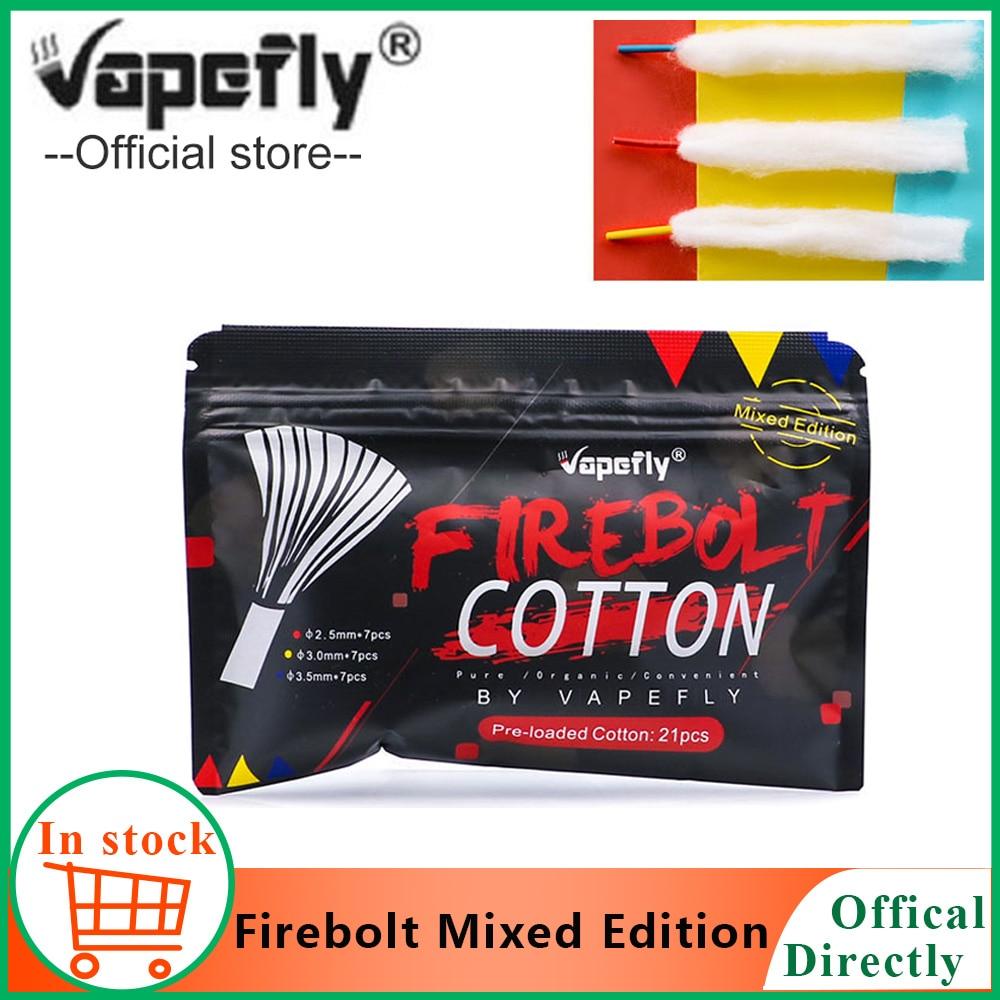 Vape Accessories Original Vapefly Firebolt Mixed Edition Cotton For DIY Atomizer Eletronic Cigarettes Organic Vape Cotton Wick