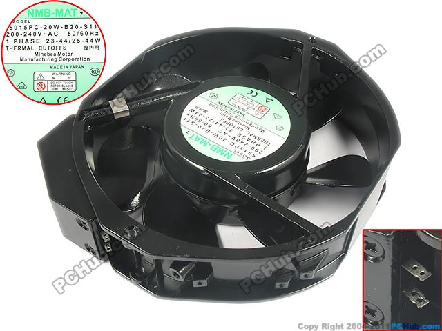 Free Shipping For NMB 5915PC-20W-B20-S11 AC 220V 4.4W 2-pin 170x150x35mm Server Round fan free shipping for adda aa8382hb aw s ac 220 240v 0 07 0 06a 2 pin 80x80x38mm server square fan free shipping