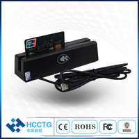 Programmable USB Magnetic Stripe MSR IC Chip Card Reader Writer HCC-100