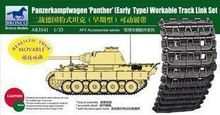 Bronco AB3541 1 35 Panzerkampfwagen Early Type Panther Workable Track Link Set