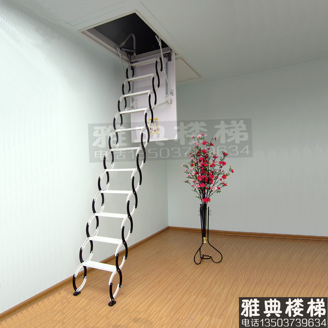 Genial Cheap Attic Stairs Telescopic Ladder Folding Attic Stairs Stylish Wood Staircase  Attic Ladders Free Customized